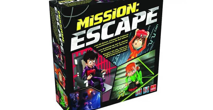 Mission escape spel