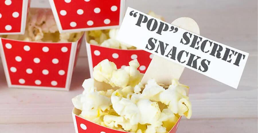 Popcorn voor kinderfeestje