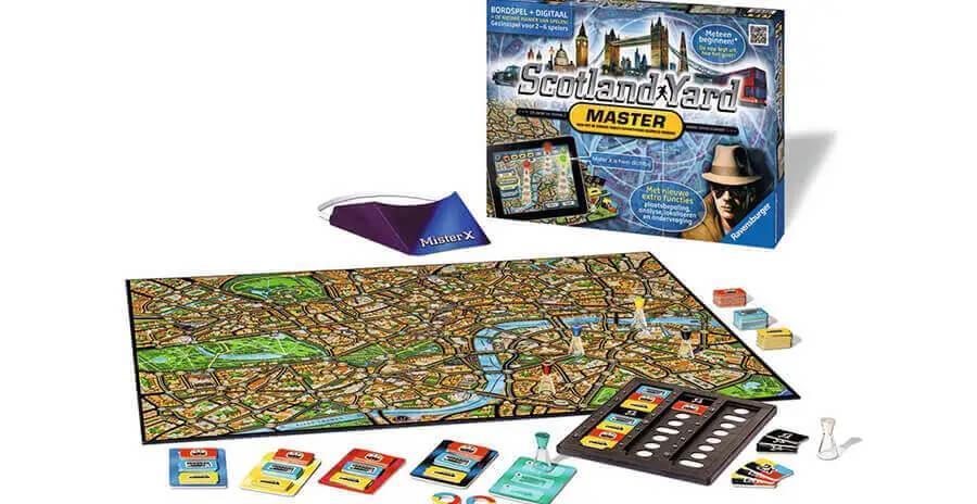 Bordspel Scotland Yard