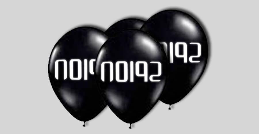 Ballonnen voor een echt spionnen kinderfeestje