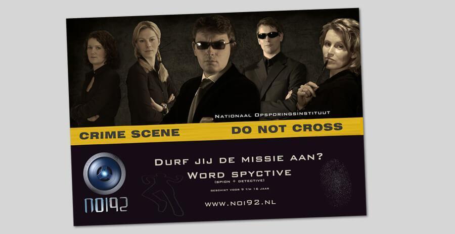 Noi92 spionnen poster