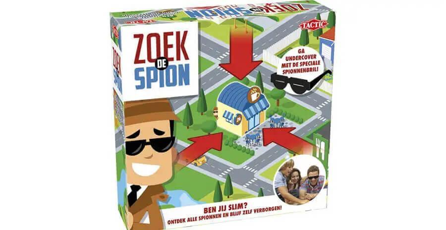 Zoek de spion bordspel